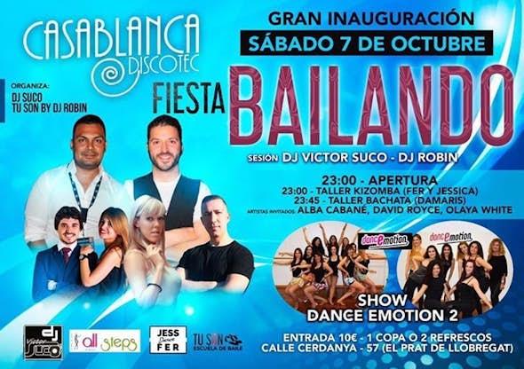 Bailando Sábados - Gran Inauguración 7 Octubre