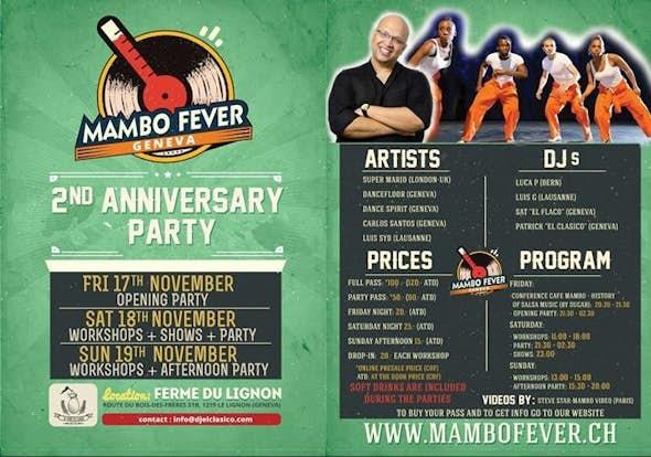 Mambo Fever 2017 (2do Aniversario)