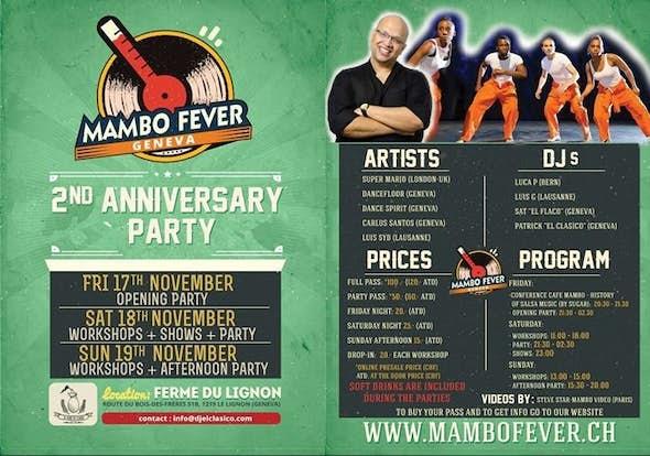 Mambo Fever 2017 (2nd Anniversary)