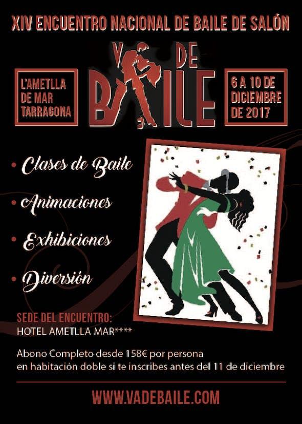 XIV Encuentro Nacional de Baile de Salón y Tango Va de Baile 2017