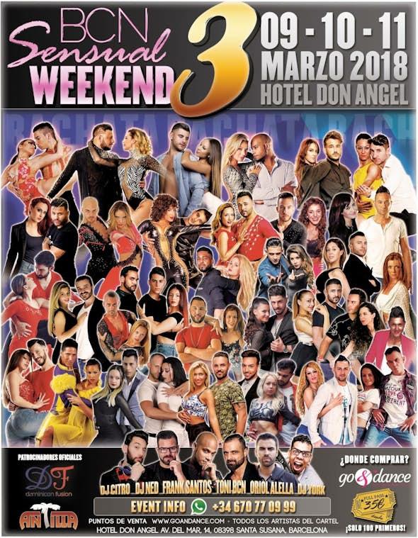 BCN Sensual Weekend March 2018 (3rd Edition)