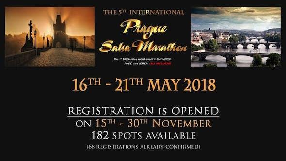 International Prague Salsa Marathon 2018 (5º Edición)