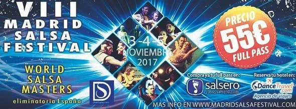 Madrid Salsa Festival 2017 (8ª Edición)
