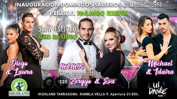 Inauguración Domingos Salseros - Mambo Night!
