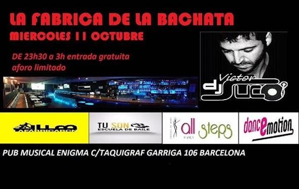 La Fábrica de la Bachata - 11 Octubre en Barcelona