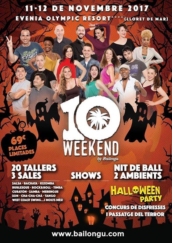 Weekend Bailongu - Noviembre 2017 (10th Edition)