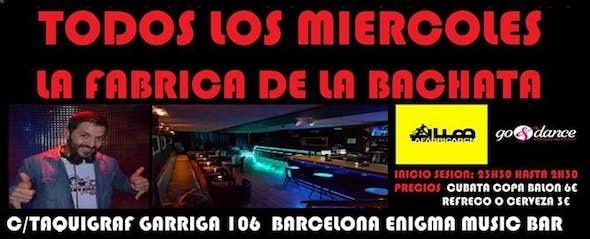 Wednesday at La Fábrica de la Bachata