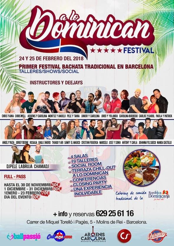 A lo Dominican Festival 2018