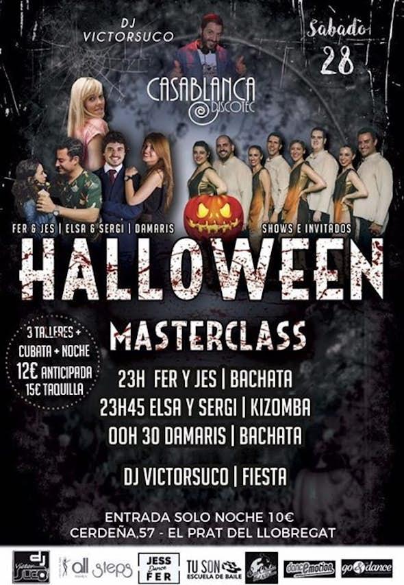 Fiesta de Halloween en Casablanca - Sábado 28
