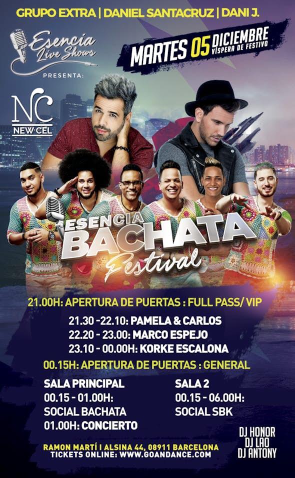Daniel Santacruz, Dani J & Grupo Extra - Triple concierto en BCN