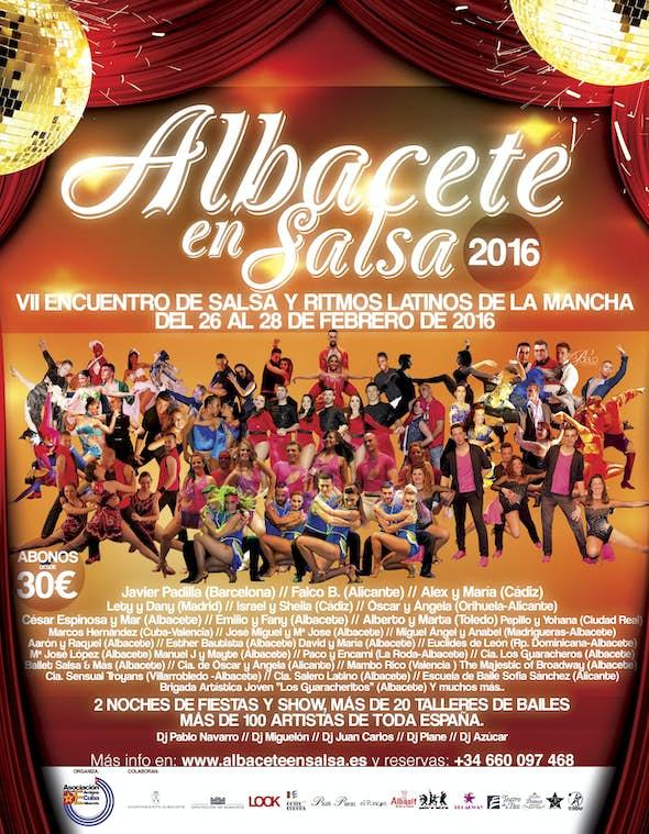 "VII Meeting of Salsa and Latin rhythms of la Mancha ""ALBACETE EN SALSA 2016"""