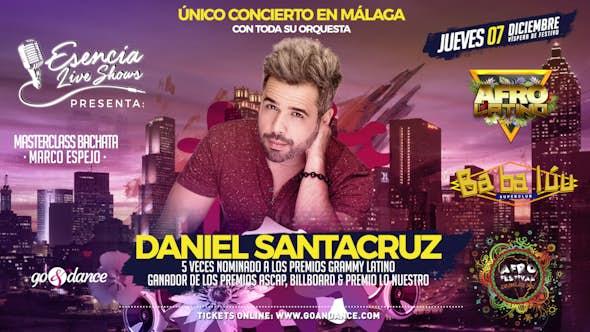 Daniel Santacruz live in Málaga