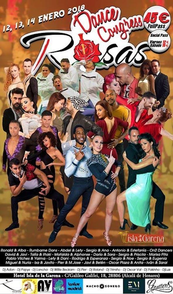 Rosas Dance Congress 2018 (4ª Edición)