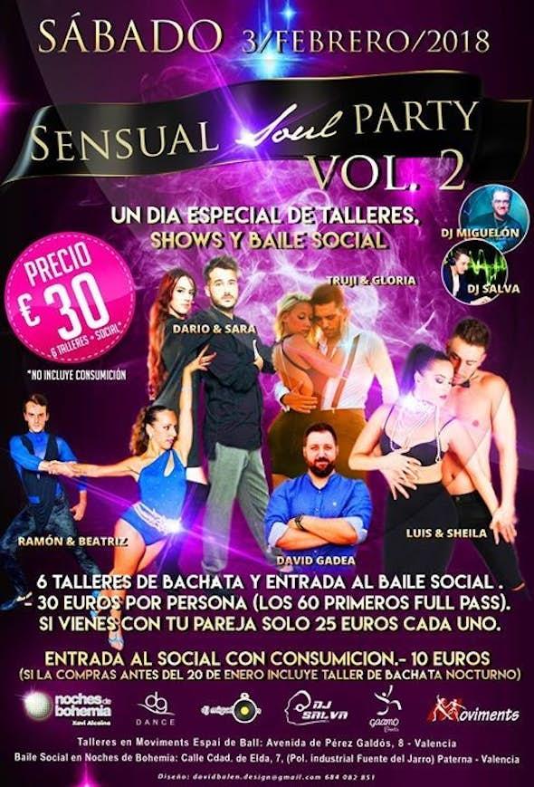 Sensual Soul Party Vol.2 2018 in Paterna (Valencia)