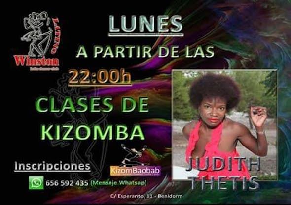 Clase de Kizomba -  Lunes - Benidorm - KizomBaobab