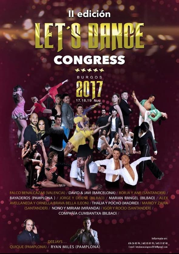 Let's Dance Congress 2017 (2ª Edición)