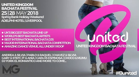B:united - United Kingdom Bachata Festival 2018