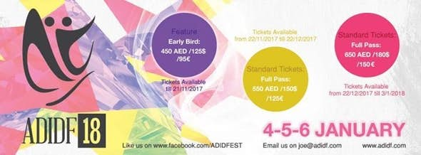Abu Dhabi International Dance Festival 2018