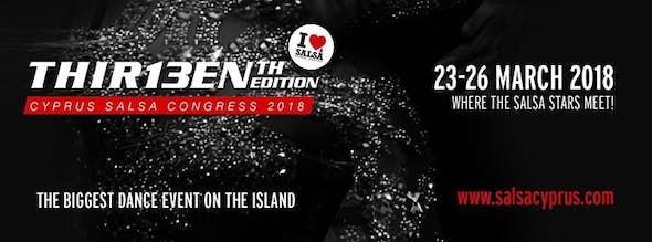 Cyprus Salsa Congress 2018 (13ª Edición)