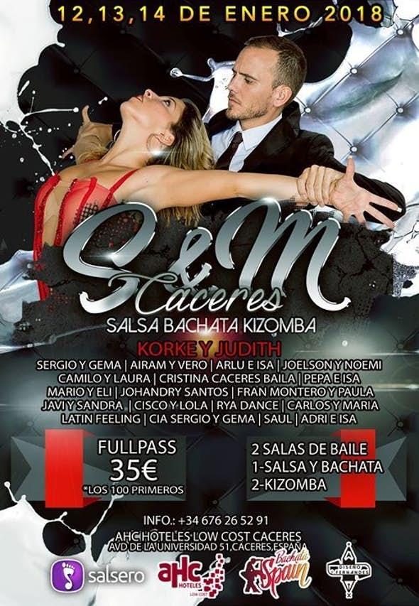S&M Cáceres 2018 (4th Edition)