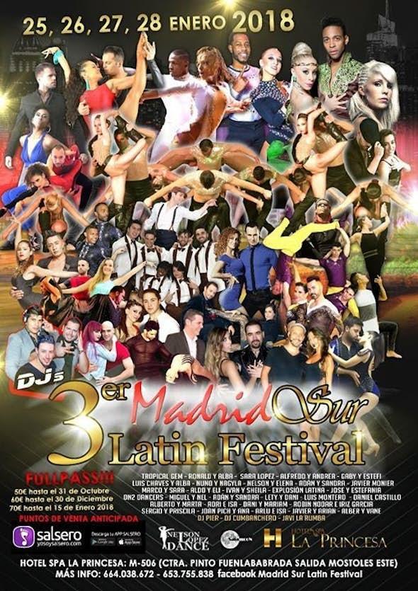 Madrid Sur Latin Festival 2018 (3th Edition)