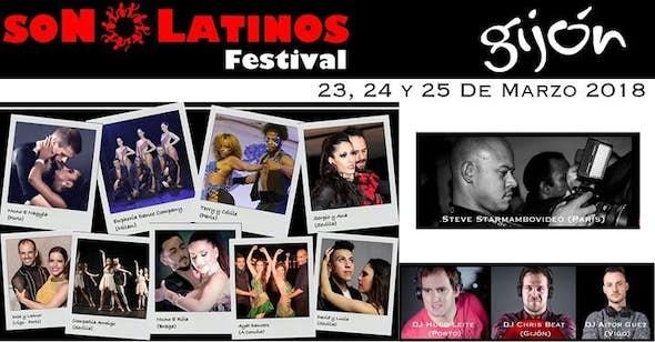 Son Latinos Festival Gijon 2018 (9ª Edición)