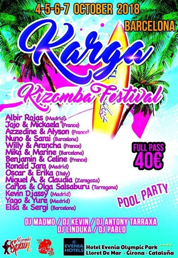 Karga Kizomba Festival 2018 (3rd Edition)