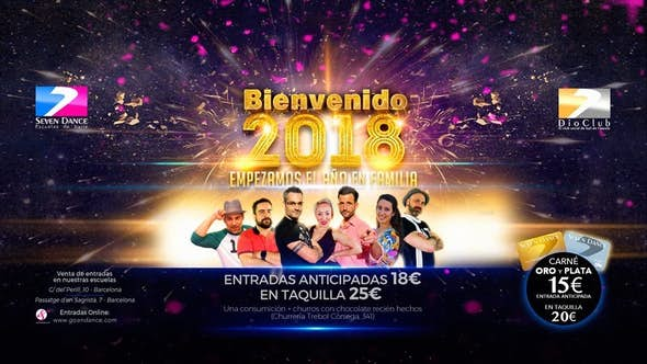 Año Nuevo 2018 Seven Dance - Dio Club