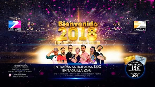 New Year's Eve 2018 Seven Dance - Dio Club