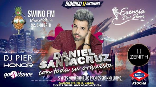 Daniel Santacruz and his orchestra - MADRID Concert