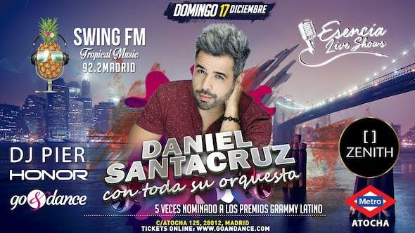 Daniel Santacruz y su orquesta - Concierto MADRID