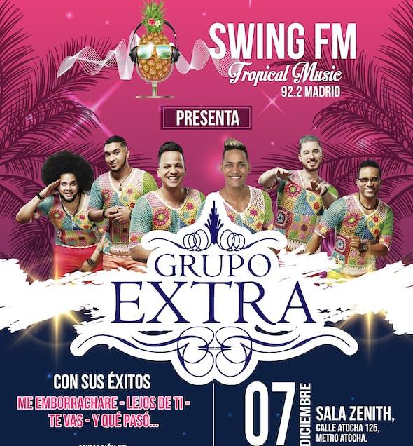 Grupo Extra en concierto Madrid - 7 diciembre 2017