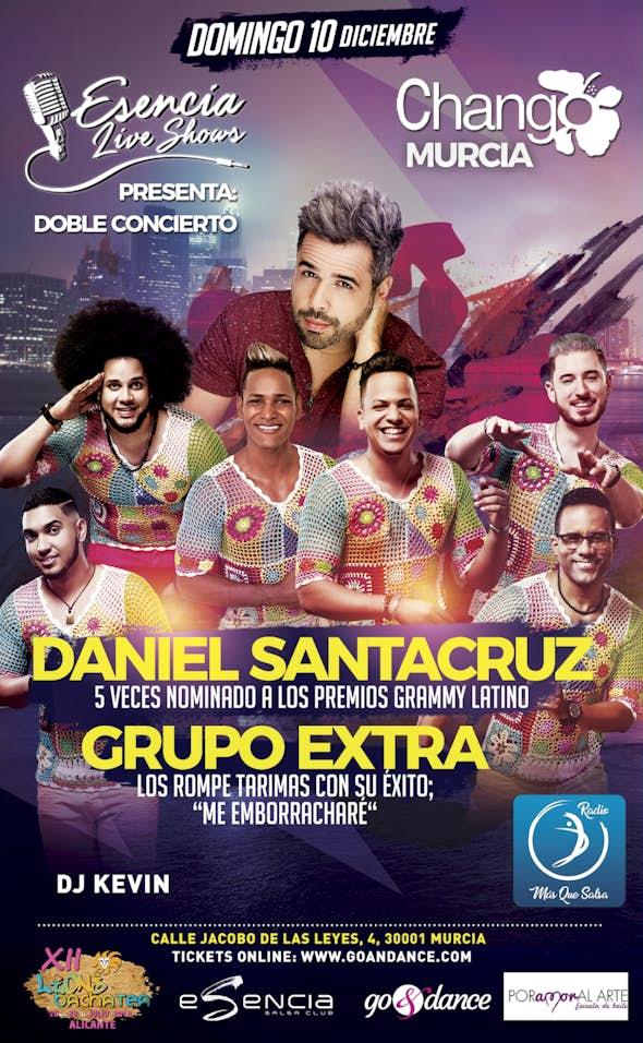 Daniel Santacruz & Grupo Extra - Doble concierto en Murcia