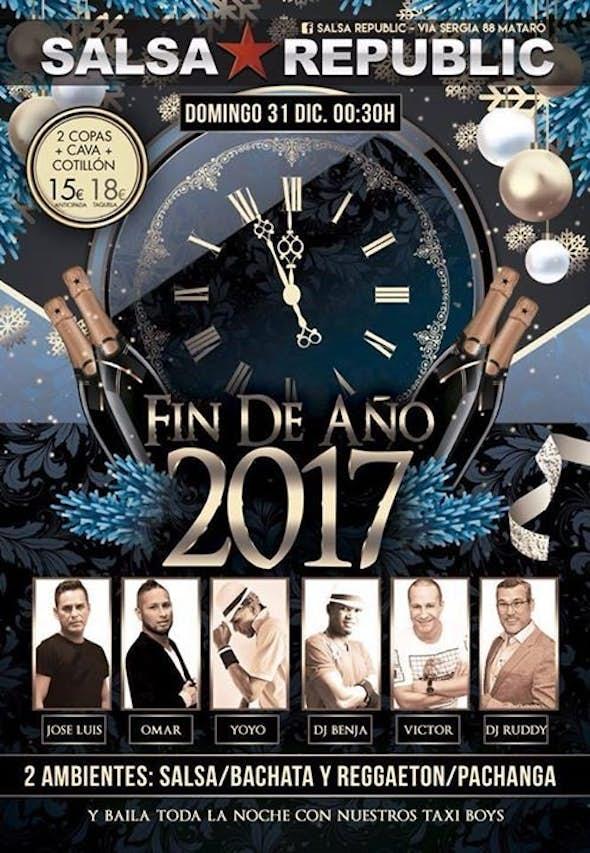 New Year's Eve in Salsa Republic
