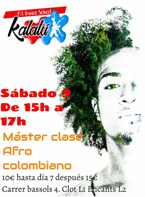Master Class de Afro Colombiano