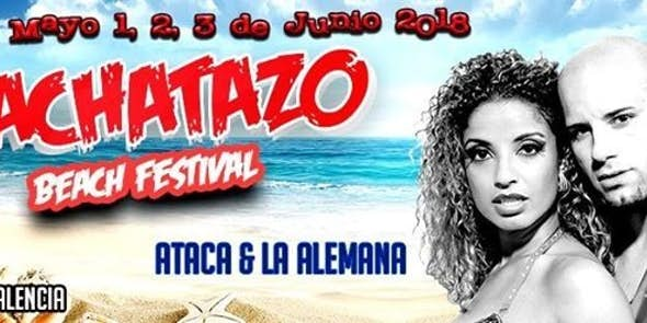 Bachatazo Beach Festival 2018 (3ª Edición)