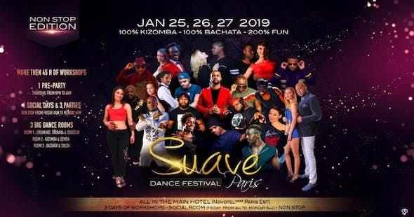 Suave Dance Festival Paris 2018 (5ª Edición)
