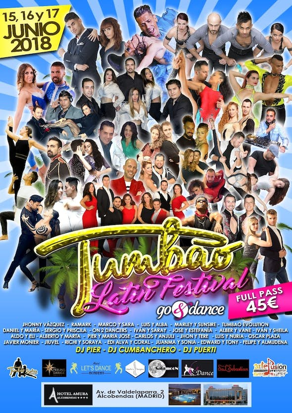 Tumbao Latin Festival 2018 (1st Edition) - CANCELED