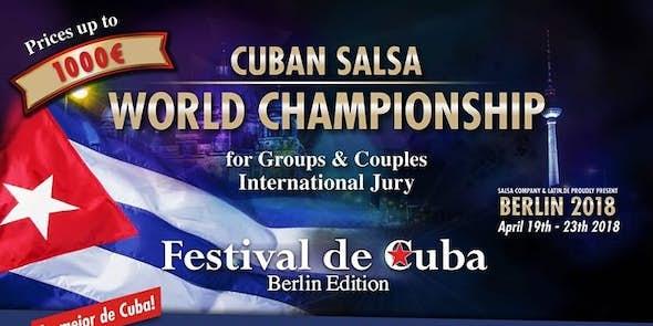 Berlin Cuban Festival 2018 (2nd Edition)