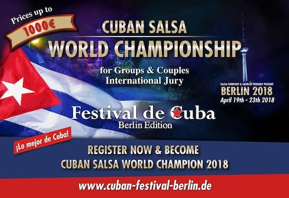 Berlin Cuban Festival 2018 (2nd Edition)