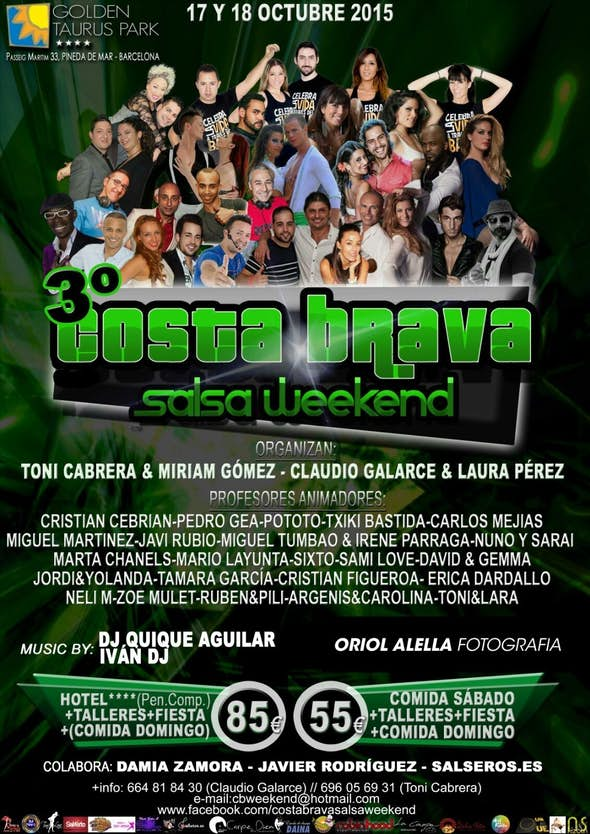 3º Costa Brava Salsa Weekend
