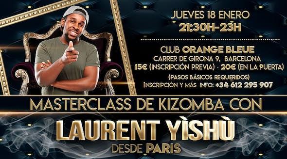 Masterclass de Kizomba con Laurent Yishu de Paris