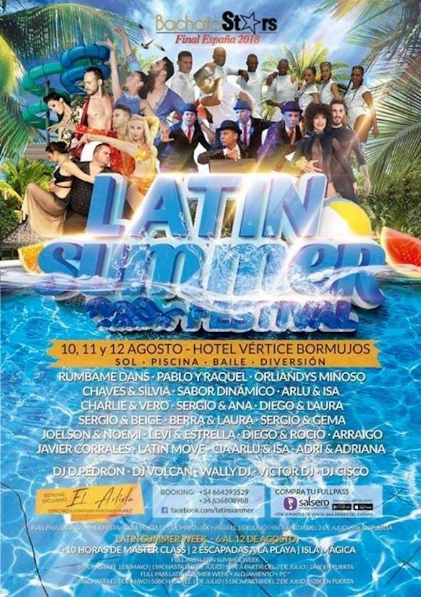 Latin Summer Festival 2018 (4ª Edición)
