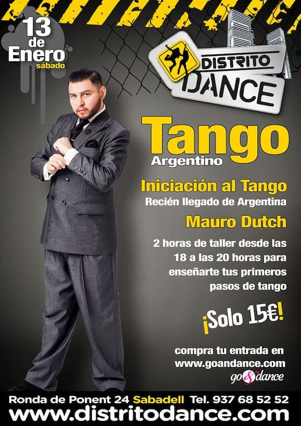 Taller de Tango desde CERO!
