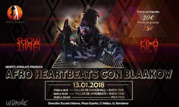 Afro Heartbeats con Blaakow