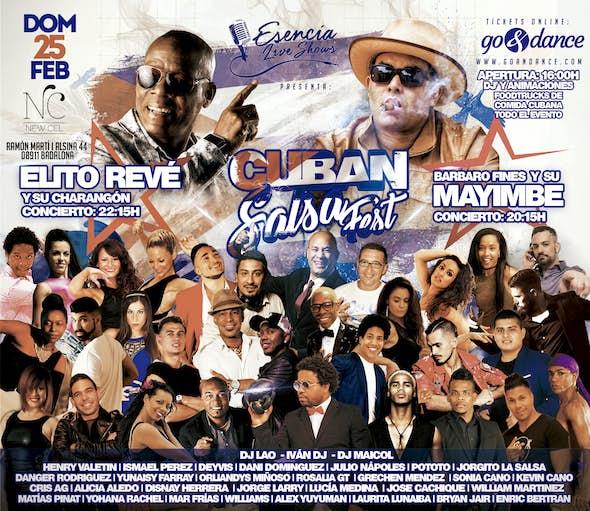 Elito Revé y Mayimbe, doble concierto en Barcelona