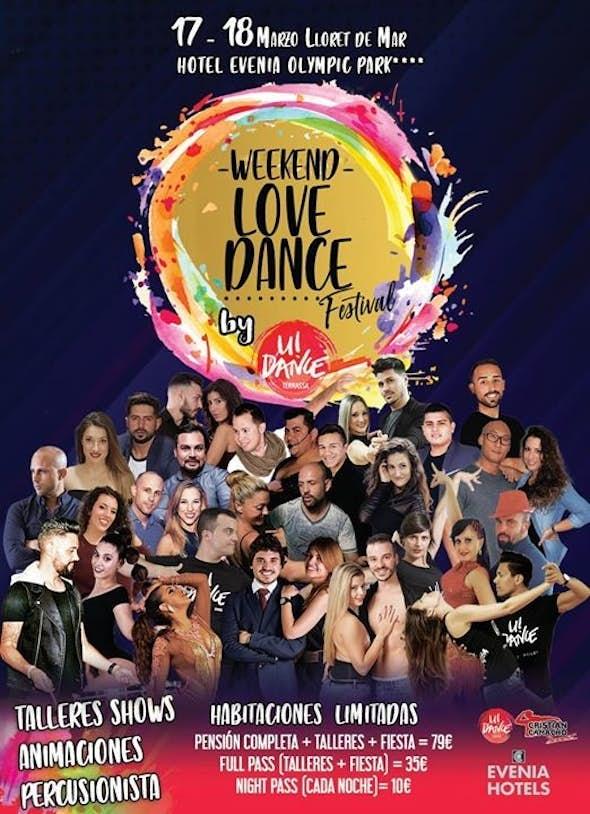 Weekend Love Dance Festival - March 2018