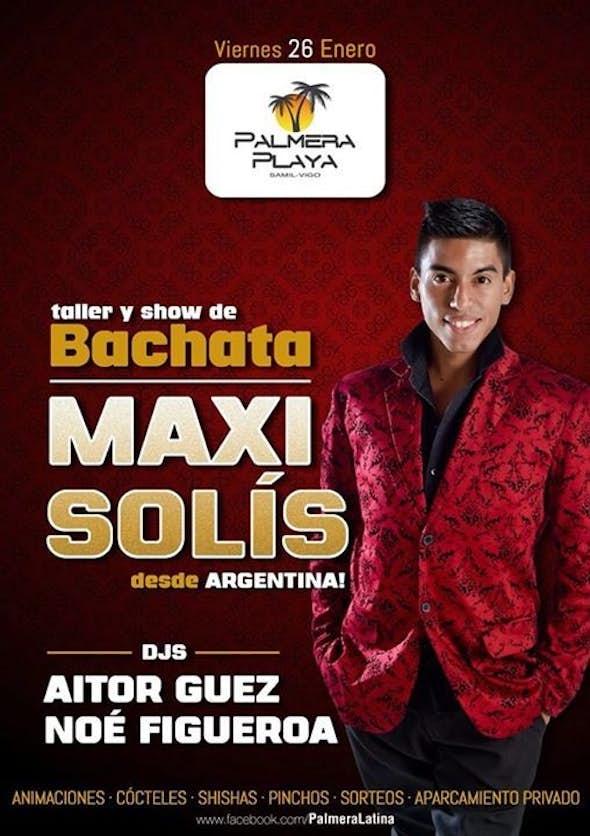 Sensual Bachata with Maxi Solís in Palmera Playa!