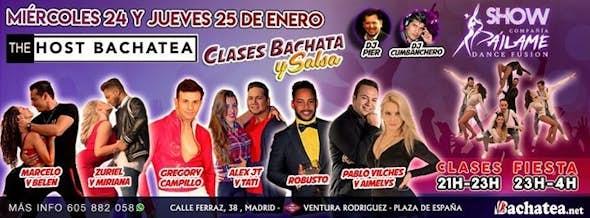 Miercoles 24 y Jueves 25 - The Host Bachatea