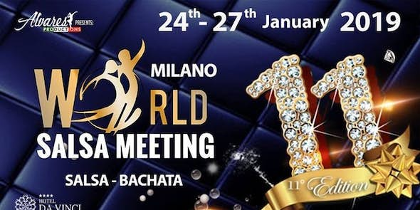 11th World Salsa Meeting - Official Event